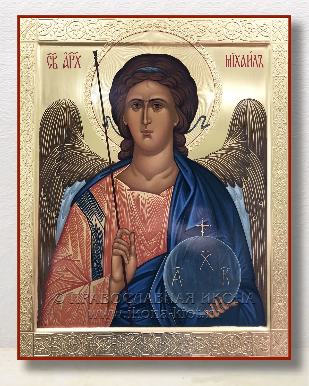Икона «Михаил Архангел, архистратиг» (образец №3)
