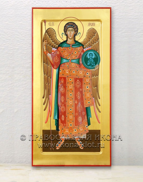 Икона «Михаил Архангел, архистратиг» (образец №34)
