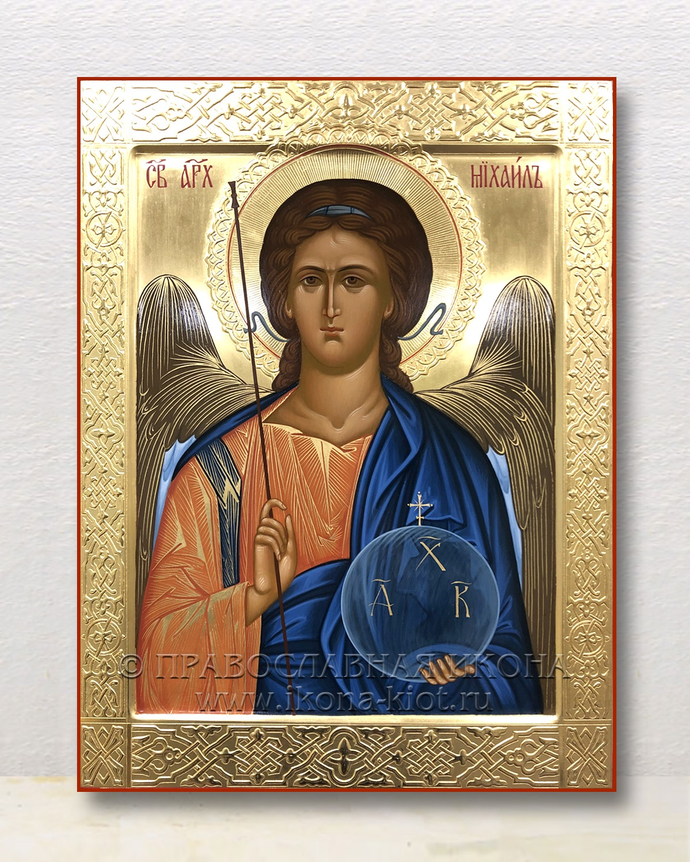 Икона «Михаил Архангел, архистратиг» (образец №40)