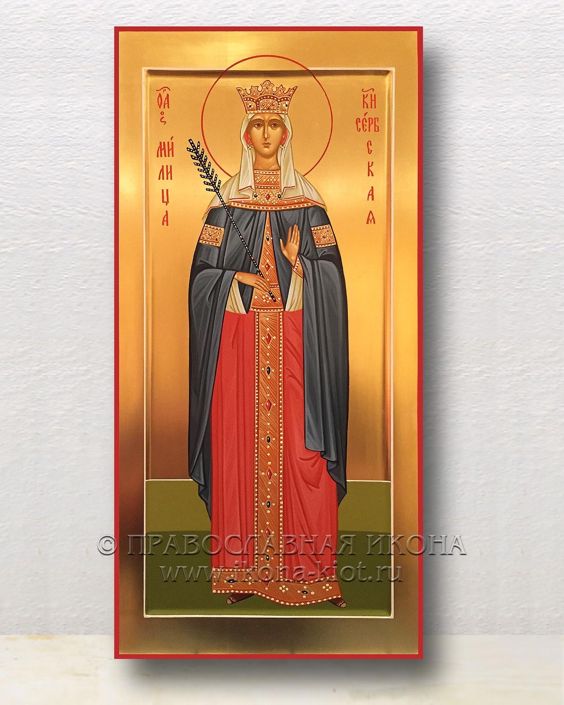 Икона «Милица, княгиня Сербская» (образец №1)