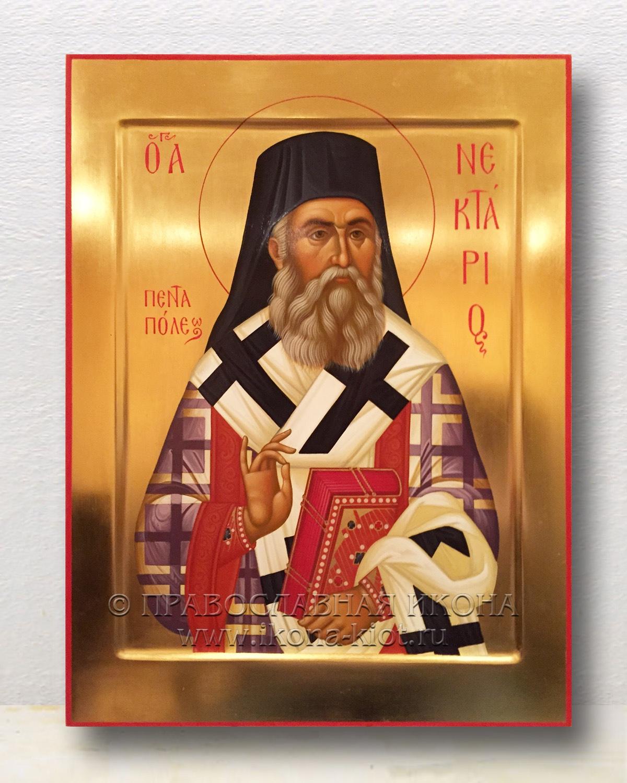 Икона «Нектарий Эгинский, святитель» (образец №2)