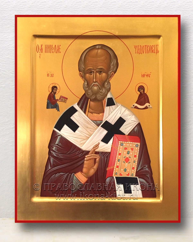 Икона «Николай Мирликийский, чудотворец» (образец №11)
