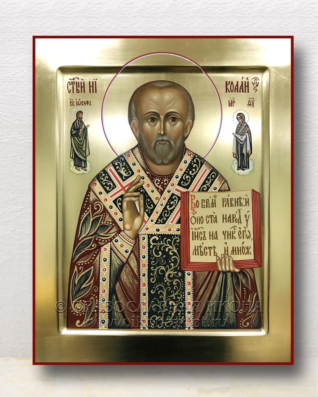 Икона «Николай Мирликийский, чудотворец» (образец №14)