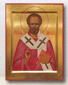 Икона «Николай Мирликийский, чудотворец» (образец №15)
