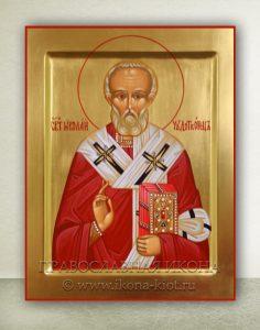Икона «Николай Мирликийский, чудотворец» (образец №16)