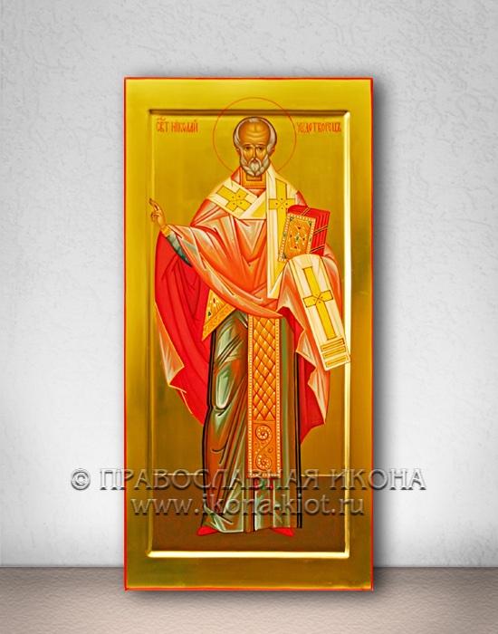 Икона «Николай Мирликийский, чудотворец» (образец №17)