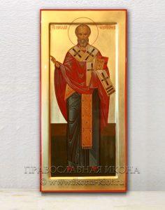 Икона «Николай Мирликийский, чудотворец» (образец №2)