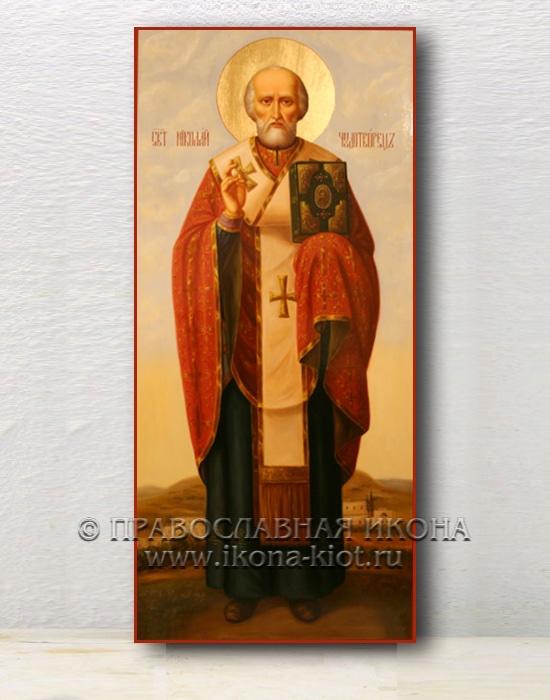 Икона «Николай Мирликийский, чудотворец» (образец №20)