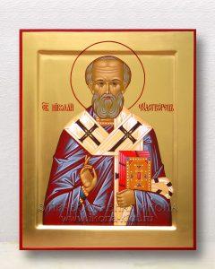 Икона «Николай Мирликийский, чудотворец» (образец №24)