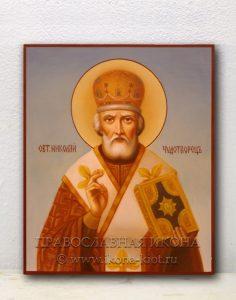 Икона «Николай Мирликийский, чудотворец» (образец №25)