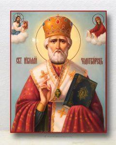 Икона «Николай Мирликийский, чудотворец» (образец №29)