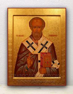 Икона «Николай Мирликийский, чудотворец» (образец №31)