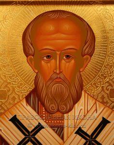 Икона «Николай Мирликийский, чудотворец» (образец №32)