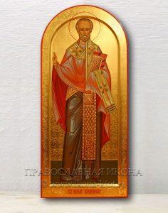 Икона «Николай Мирликийский, чудотворец» (образец №34)