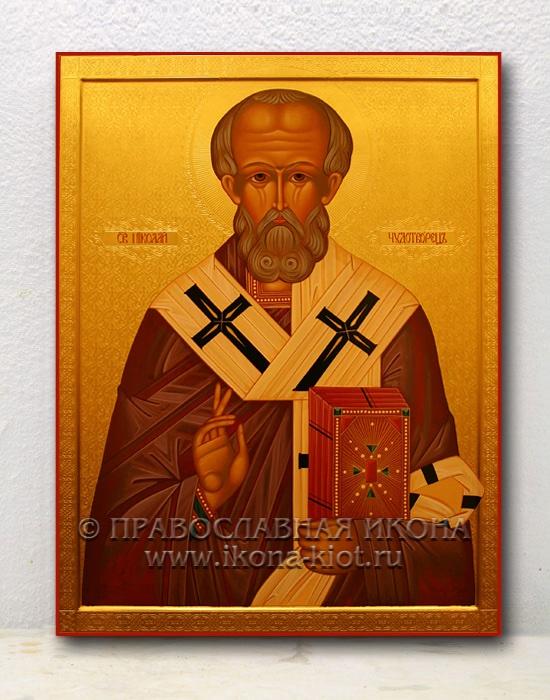 Икона «Николай Мирликийский, чудотворец» (образец №36)