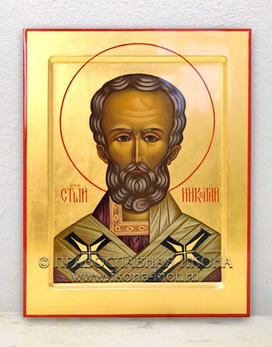 Икона «Николай Мирликийский, чудотворец» (образец №4)