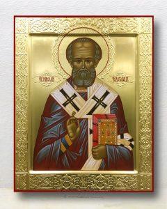 Икона «Николай Мирликийский, чудотворец» (образец №42)