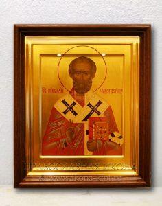 Икона «Николай Мирликийский, чудотворец» (образец №47)