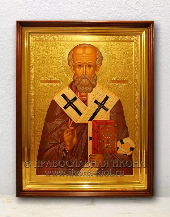 Икона «Николай Мирликийский, чудотворец» (образец №49)