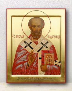 Икона «Николай Мирликийский, чудотворец» (образец №5)