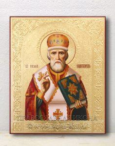 Икона «Николай Мирликийский, чудотворец» (образец №51)