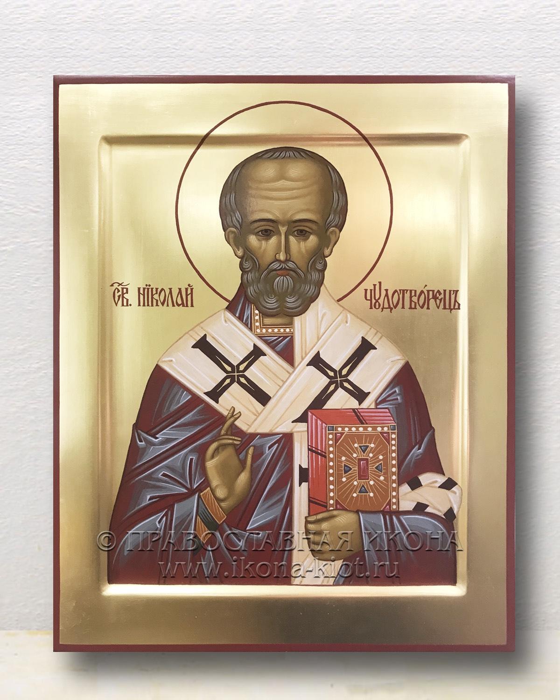Икона «Николай Мирликийский, чудотворец» (образец №54)