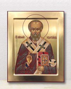 Икона «Николай Мирликийский, чудотворец» (образец №58)
