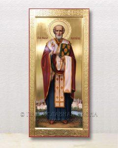 Икона «Николай Мирликийский, чудотворец» (образец №59)