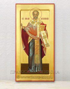 Икона «Николай Мирликийский, чудотворец» (образец №6)