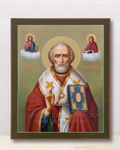 Икона «Николай Мирликийский, чудотворец» (образец №60)