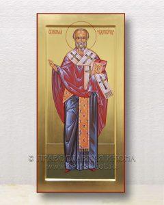 Икона «Николай Мирликийский, чудотворец» (образец №62)
