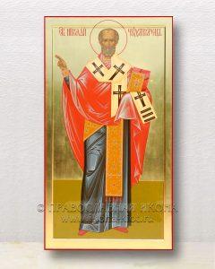 Икона «Николай Мирликийский, чудотворец» (образец №7)