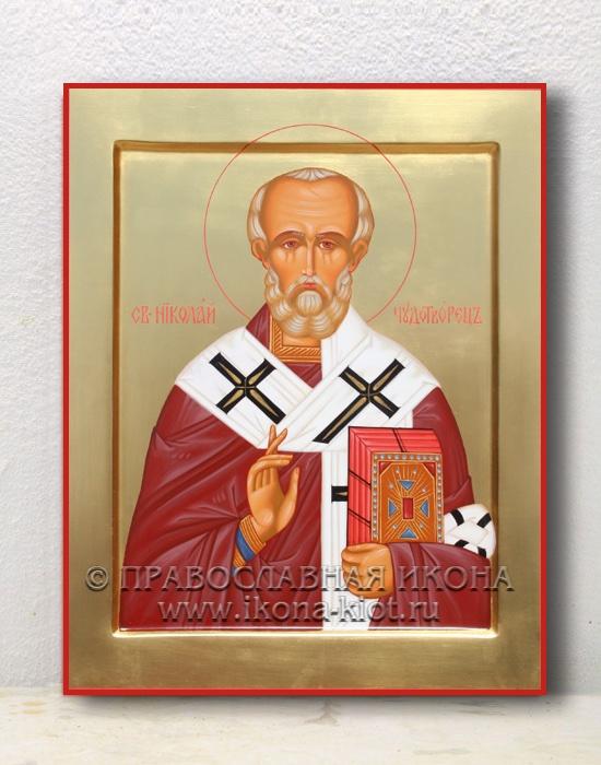 Икона «Николай Мирликийский, чудотворец» (образец №8)