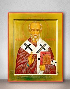 Икона «Николай Мирликийский, чудотворец» (образец №9)
