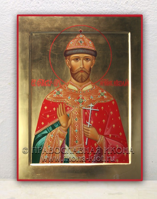 Икона «Николай, царь» (образец №3)