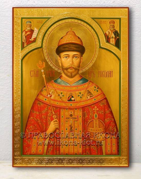 Икона «Николай, царь» (образец №4)