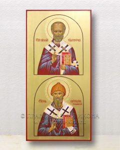 Икона «Николай Мирликийский и Спиридон Тримифунтский»
