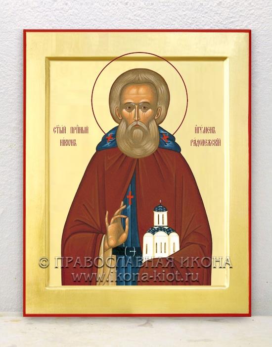 Икона «Никон Радонежский, преподобный» (образец №1)