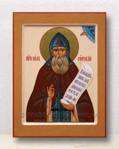 Икона «Нил Сорский, преподобный» (образец №1)