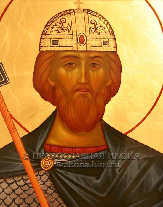 Икона «Олаф, князь» (образец №2)