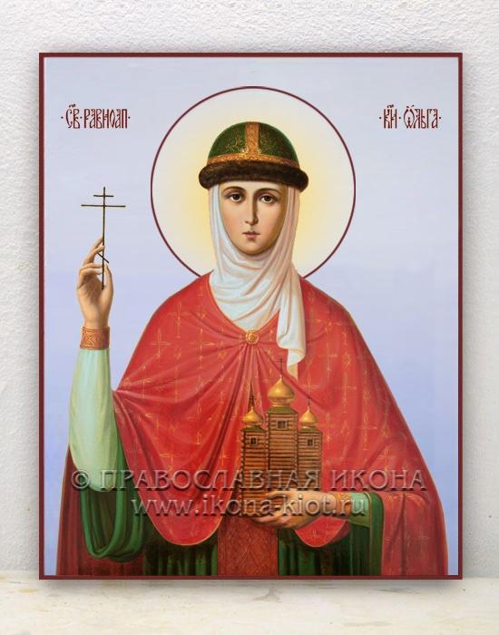 Икона «Ольга равноапостольная, княгиня» (образец №12)