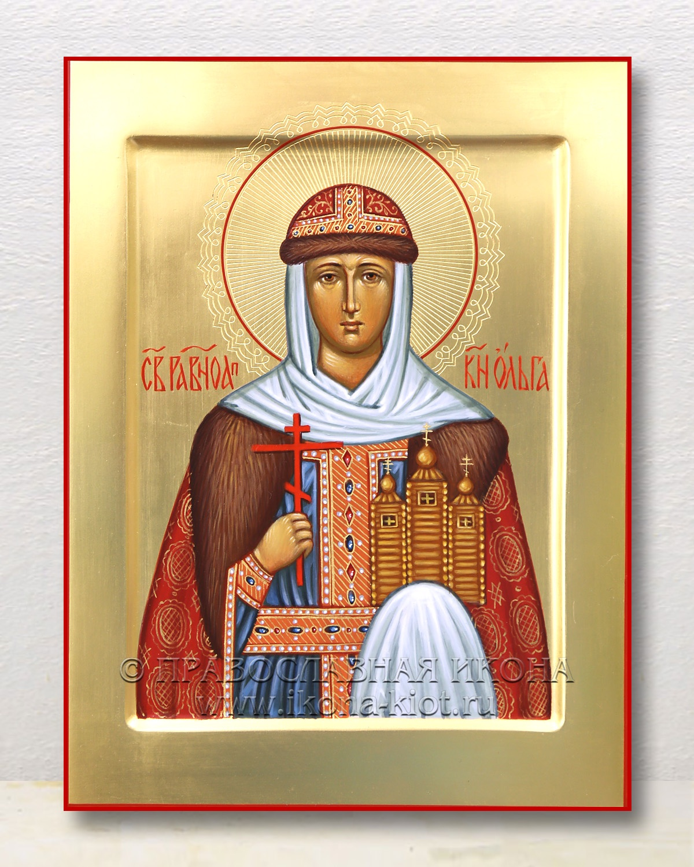 Икона «Ольга равноапостольная, княгиня» (образец №21)