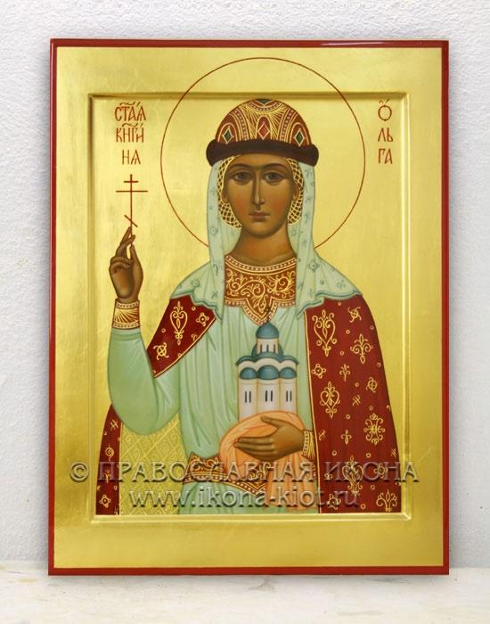 Икона «Ольга равноапостольная, княгиня» (образец №3)