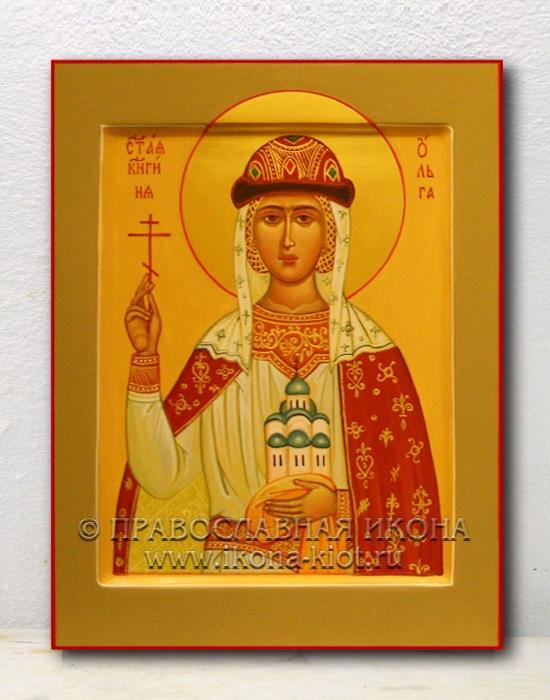 Икона «Ольга равноапостольная, княгиня» (образец №7)