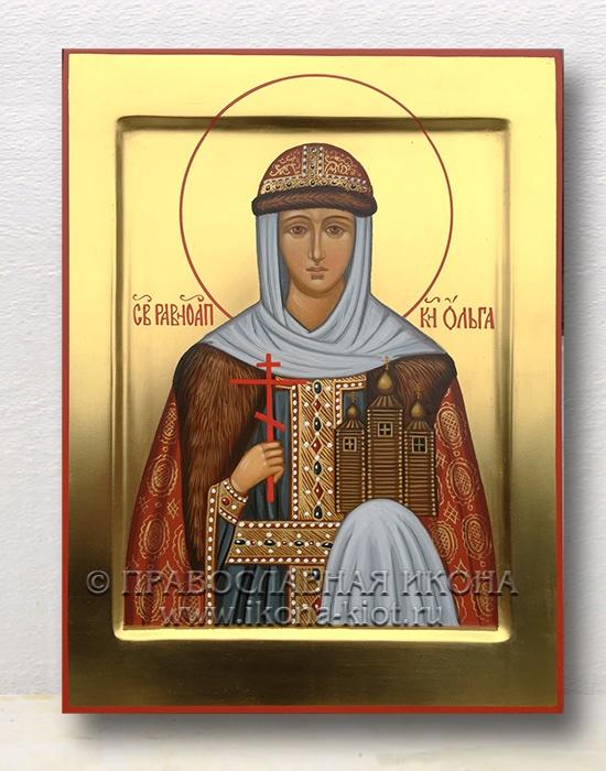 Икона «Ольга равноапостольная, княгиня» (образец №8)