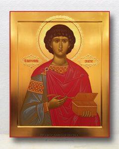 Икона «Пантелеймон целитель, великомученик» (образец №1)