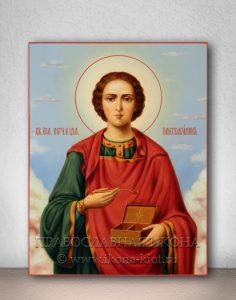 Икона «Пантелеймон целитель, великомученик» (образец №3)