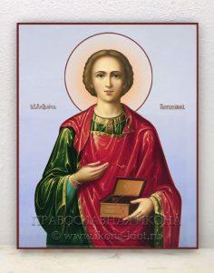 Икона «Пантелеймон целитель, великомученик» (образец №12)