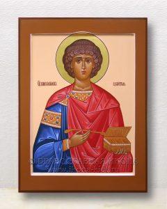 Икона «Пантелеймон целитель, великомученик» (образец №17)