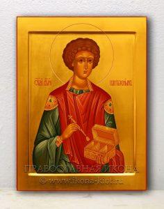 Икона «Пантелеймон целитель, великомученик» (образец №2)